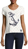 Tommy Hilfiger Star Print Anchor Graphic T-Shirt