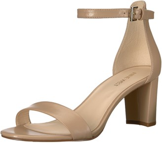 Nine West Women's Pruce Leather Heeled Sandal