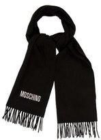 Moschino Wool Fringe Scarf