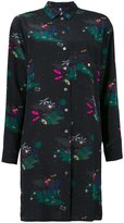 Paul Smith printed shirt dress - women - Silk - 38