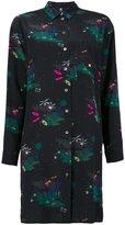 Paul Smith printed shirt dress - women - Silk - 40
