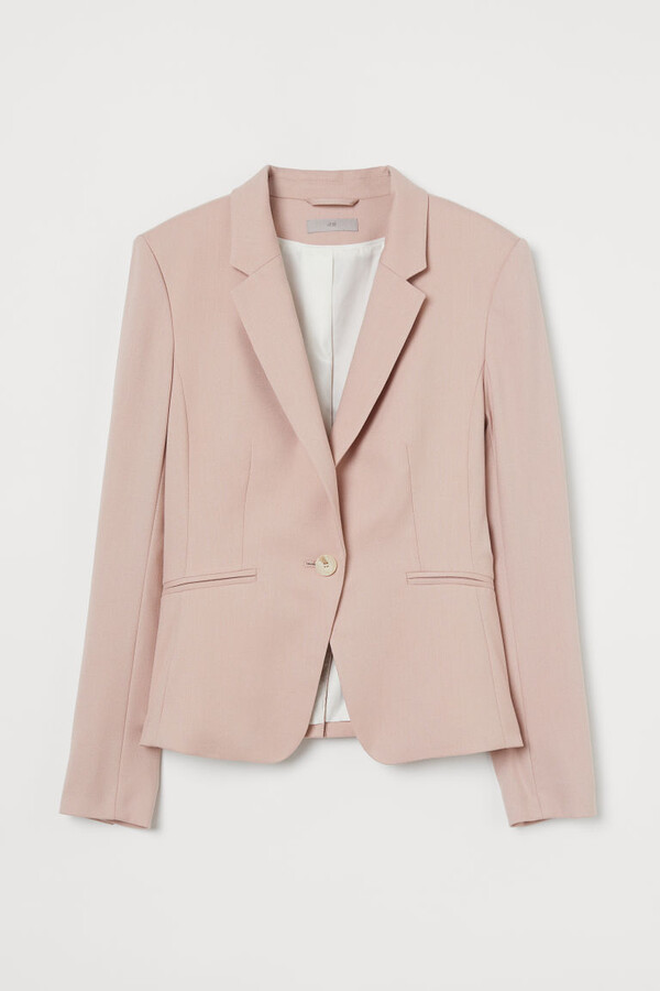 Thumbnail for your product : H&M Fitted Blazer - Pink