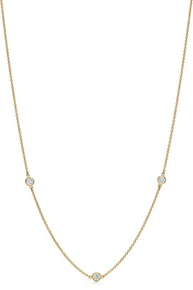 Tiffany & Co. Elsa Peretti Diamonds by the Yard necklace in 18k gold