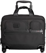 Tumi Alpha 2 Deluxe 4-Wheel Brief with Laptop Case
