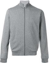 Z Zegna high neck zipped sweatshirt