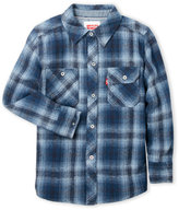 Levi's Boys 8-20) Plaid Flannel Shirt