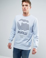 G Star G-Star Riner Print Sweatshirt