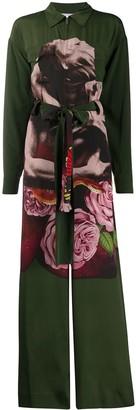 Valentino Undercover print jumpsuit