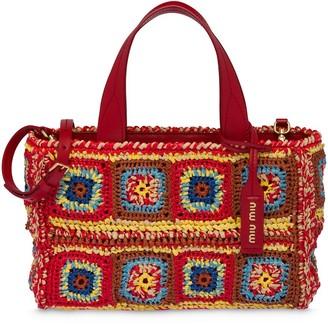 Miu Miu Crochet Handbag