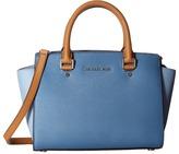 MICHAEL Michael Kors Selma Medium Top Zip Satchel Satchel Handbags