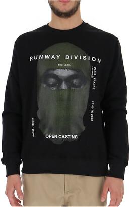 Ih Nom Uh Nit Open Casting Print Sweatshirt