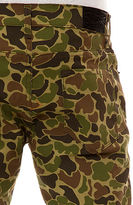 Camo BLKWD The Skinny Duck Hunter 5PKT Pants in Woodland