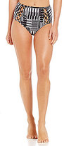 Kenneth Cole New York After Midnight High Waist Lace-Up Bottom