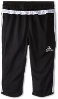 adidas Kids - Tiro 15 Three-Quarter Pant Girl's Casual Pants