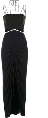 Dion Lee Cut-Out Panelled Dress
