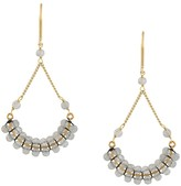 Isabel Marant beaded fan-drop earrings