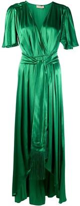 Twin-Set Tie-Waist Wrap Dress