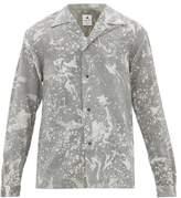 Sasquatchfabrix - Suminagashi Cuban Collar Shirt - Mens - Multi