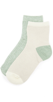 Madewell Mid Ankle Sock 2 Pack