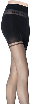 DKNY Sheer Control Top Pantyhose