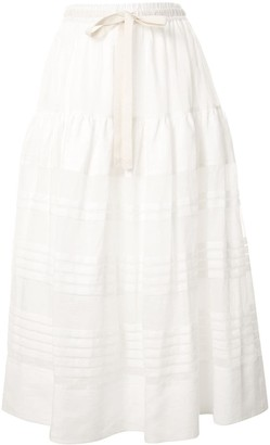 Lee Mathews Gigi maxi skirt