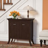 Clermont Tray Edge 2 Door Accent Cabinet Charlton Home