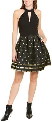 Betsey Johnson Dot Mini Dress