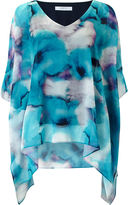 Jacques Vert Printed Cold Shoulder Tunic