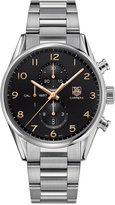 TAG Heuer Men's Swiss Automatic Chronograph Carrera Calibre 1887 Stainless Steel Bracelet Watch 43mm CAR2014.BA0799