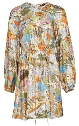 Stine Goya Coco silk printed dress