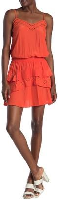 Ramy Brook Blaire Eyelet Lace Layered Dress