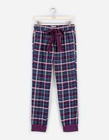 Fat Face Upavon Jacquard Check Cuffed Lounge Pants