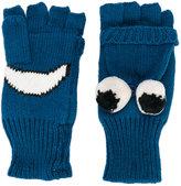 Stella McCartney smiley mittens