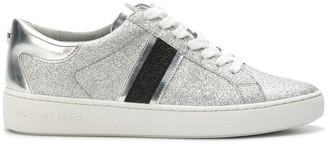 MICHAEL Michael Kors Keaton striped glitter sneakers