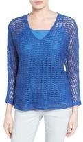 Nic+Zoe Sun Catcher Crochet Blouse