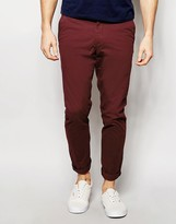 Jack & Jones Intelligence Slim Fit Chinos With Stretch