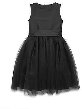 Isabel Garreton Little Girl's Windy Taffeta & Tulle Dress