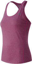 New Balance Women's Heathered Racerback Workout Tank