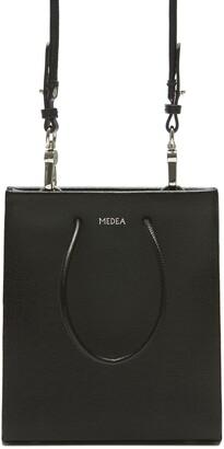 Medea Short Saffiano Leather Tote