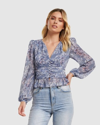 Forever New Dallas Ditsy Floral Top