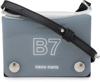 Nana-Nana PVC B7 crossbody bag