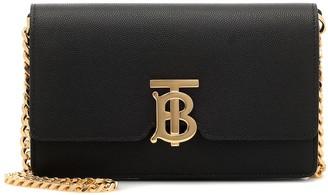 Burberry Carrie leather shoulder bag