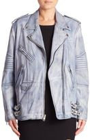 Alexander Wang Classic Leather Biker Jacket