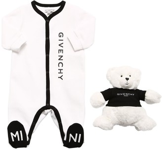 Givenchy COTTON INTERLOCK ROMPER & TOY