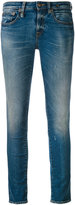 R 13 cropped 'Alison' jeans - women - Cotton/Polyester/Spandex/Elastane - 26