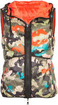 Marc Cain camouflage padded gilet