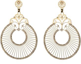 LK LKE951Ygs Designs Women's Earrings Brass