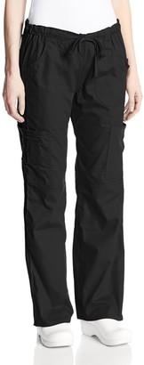 Dickies Women's EDS Signature Scrubs Jr. Fit Drawstring Cargo Pant
