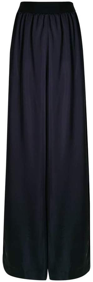 Maison Margiela high-waist flared trousers