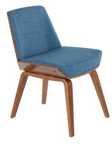 Lumisource Corazza Mid-Century Modern Dining/Accent Chair
